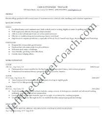 Math Tutor Resume Unique Math Tutor Resume Sample Examples Template Templates Free Word