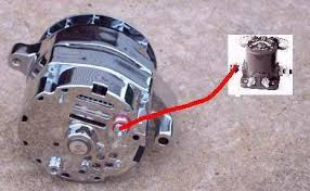 one wire alternator wiring diagram ford wiring diagram ford 1 wire alternator conversion image about wiring