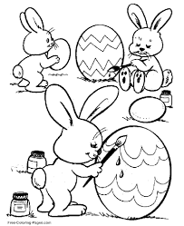 How cute is this easter coloring sheet? Easter Coloring Pages