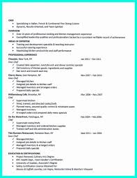 Chef Resume Sample Chef Resume Format New Sous Chef Resume Example Resume Concept 42