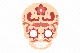 This free svg cut file is compatible with the cricut, silhouette cameo, and other craft cutters. Sugar Skull Set Svg Cut File By Creative Fabrica Crafts Creative Fabrica