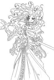 Small Picture 10 Pics Of Medusa Coloring Pages Sketch Medusa Coloring Pages