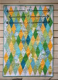39 best Diamond quilts images on Pinterest | Projects, Diamond ... & Diamond Quilt tutorial by urban.patchwork, via Flickr Adamdwight.com