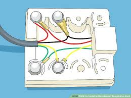 residential telephone jack wiring diagram solution of your wiring phone jack wiring diagram wiring solution 2018 rh mma hits com old telephone wiring diagrams telephone