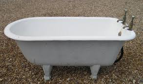 original victorian bathrooms freestanding small children s cast iron bath with an enamel roll top suitable for