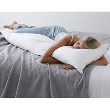 down feather body pillow. Interesting Body Firm Density 95 Feathers5 Down Fill Body Pillow 20 To Feather Pillow The Company Store