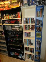 video game room furniture. i want a shelf like this for ma room video game furniture