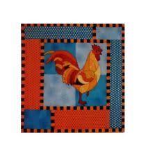 rooster quilt patterns   eBay & BJ Designs & Patterns Reggie Rooster Chicken Applique Quilt Pattern Adamdwight.com