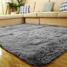 new soft plain gy mats washable non slip large small bedroom rugs runners uk