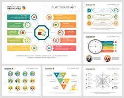 Colorful Finance Or Banking Concept Infographic Charts Set Business