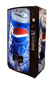 Can Vending Machine Mesmerizing Vendo Model 48 Can Vending Machine Pepsi Globe