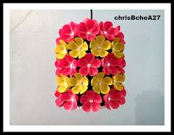 fl chandelier from plastic bottle