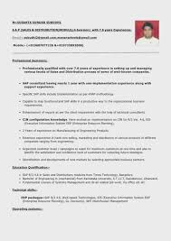 Resume With Little Work Experience Sample Enchanting Resume Format For Experienced Work Experience Without First Cv No