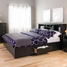 Sonoma Bedroom Furniture Prepac Sonoma King Storage Headboard By Oj Commerce Wsh 8445 16796