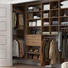 California Closets - Modern Reach-In Custom Closet
