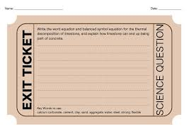 exit ticket style worksheets for qwc questions good plenary to develop literacy skills for science