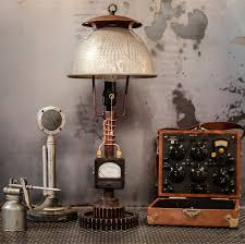 Creative Idea:Brown Stunning Vintage Steampunk Table Lamp Near Steampunk  Accessories 12 Dazzling Steampunk Home