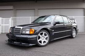 You are bidding on a set of mercedes c class coupe 'evolution' alloy wheels with tyres. There S A Super Rare 1991 Mercedes 190e 2 5 16v Evo Ii For Sale In California Carscoops Mercedes Benz 190e Mercedes Benz 190 Mercedes Benz