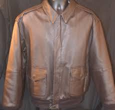 vtg airborne leather er jacket