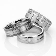 View Full Gallery Of Elegant Dora Mens Wedding Rings Displaying