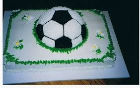 Soccer Ball Icing Decorations I made this for a girls soccer team All buttercream frosting over 22
