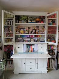 ikea hemnes secretary desk with hutch and two hemnes bookshelves for the sides for a