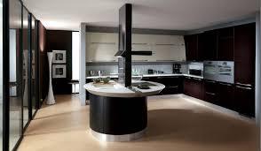Kitchen Design:Modern Brown Ceramic Floor With Black And White Italian  Kitchen Design Modern Italian