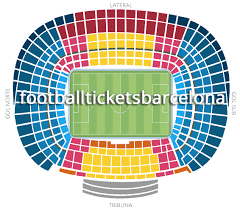 Wings Stadium Seating Chart The Official Seating Categories At The Camp Nou Fc Barcelona