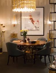 modern home dining rooms. APIS Round Dining Table Mid Century Modern Design By BRABBU | Room Ideas. Home Rooms