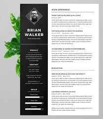 Eye Catching Resume Templates Gorgeous 28 EyeCatching Resume Templates That Will Get You Noticed