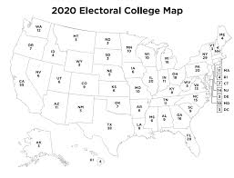 Print out maps in a variety of sizes, from a single sheet of paper to a map almost 7 feet across, using an ordinary printer. 2020 Free Printable Electoral College Map Classy Mommy