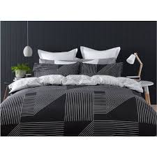 Linear Quilt Cover Set - Queen Bed | Kmart & Linear Quilt Cover Set - Queen Bed Adamdwight.com