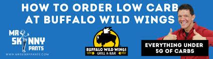 buffalo wild wings keto friendly