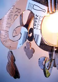 Kronleuchter Aus Karton Upcycling Lampe Basteln Mit Papier