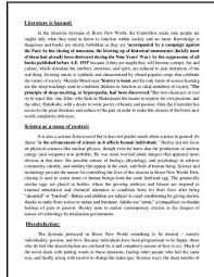 brave new world essay dystopia brave new world essay
