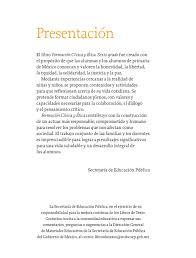 Desafío 9 cuarto grado ¿cuáles faltan? Formacion Civica Y Etica Sexto Grado Primera Edicion 2020 Comision Nacional De Libros De Texto Gratuitos