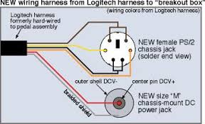 modifying the logitech wingman formula force to connect act labs i wired the male half of the ps 2 extension to the internal wiring of the logitech pedal assembly again if you aren t concerned about ever using the