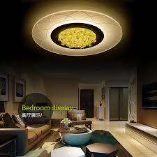 wireless lighting fixtures. crystal led ceiling lights modern fixtures wireless bedroom acrylic lamp plafonnier design living kitchen light lampara lighting e