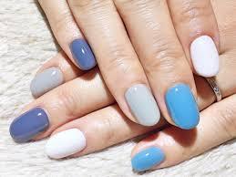 ワンカラー白ライトグレーグレイッシュブルー水色plumeria