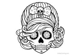 Coloring Pagesle Skull Free For Adults Near Me Pictures Easter Kids
