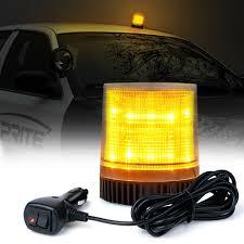Strobe Light In Store Details About 12 Led Beacon Light Vehicle Magnetic Emergency Warning Strobe Lights Amber