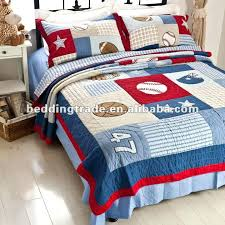 sports basketball bedding cotton kids bedding boys quilt all states boys quilt set twin size view