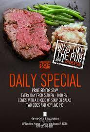 prime rib dinner flyer. Interesting Rib In Prime Rib Dinner Flyer