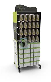 Footwear Display Stands Interesting Retail Shop Flooring Display Stands Promotional Movable Metal Shoe