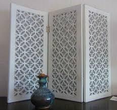 Fenster Paravent Sichtschutz Holz Shabby 60 X 45 Cm Kreuzblume In