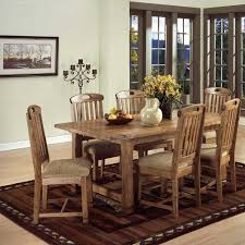 the advanes and disadvanes of the woven chairs traditional dining room design with rectangular brown