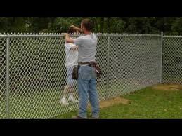 chain link fence installation. Simple Fence Throughout Chain Link Fence Installation