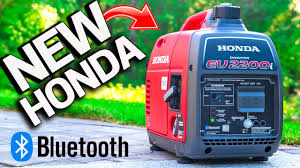 <b>NEW</b> HONDA <b>BLUETOOTH</b> Generator EU2200i Exposed! CO ...