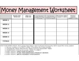 Manage Money Spreadsheet Anne Hanson Mary Kay Sales Director Us Tc Money Management