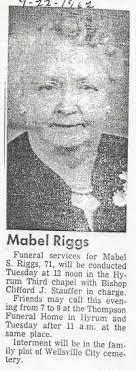 Mabel Leishman Scott Riggs (1891-1962) - Find A Grave Memorial